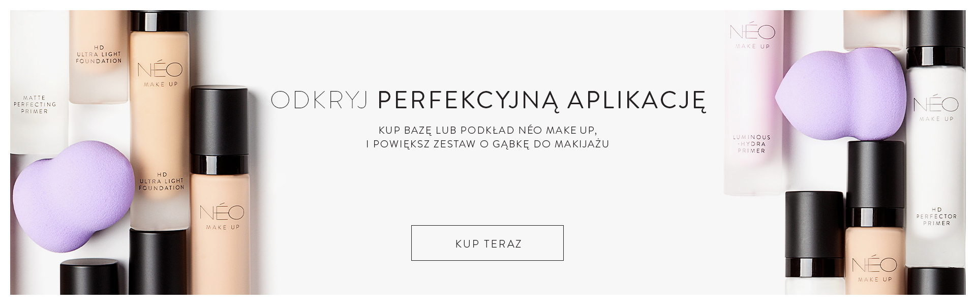 Gąbka do makijażu od NEO Make Up w prezencie