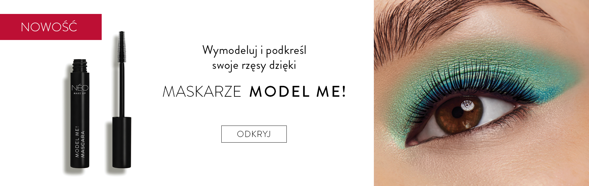 Nowy tusz do rzęs Model Me!