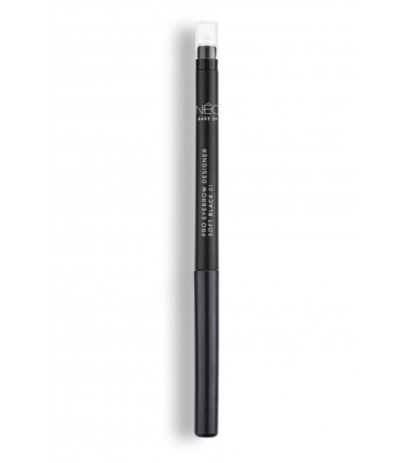 Kredka do brwi soft black 01 Pro eyebrow designer soft black 01