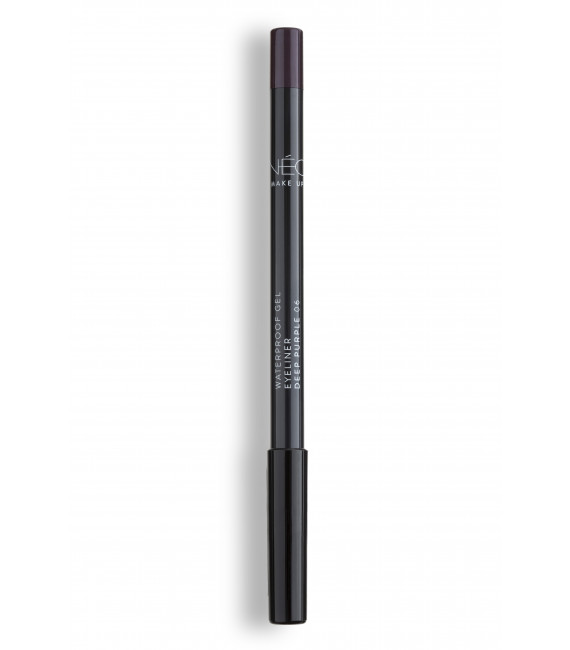 Kredka do powiek wodoodporna 06 deep purple Waterproof gel eyeliner 06 deep purple