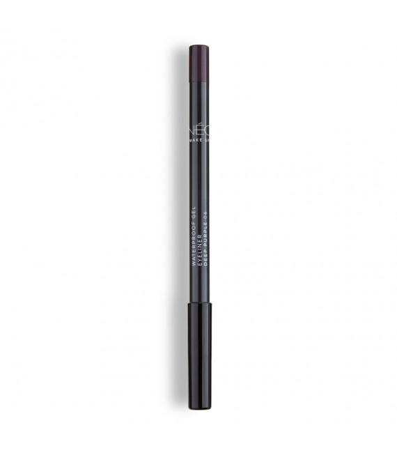 Kredka do powiek wodoodporna 06 deep purple Waterproof gel eyeliner 06 deep purple