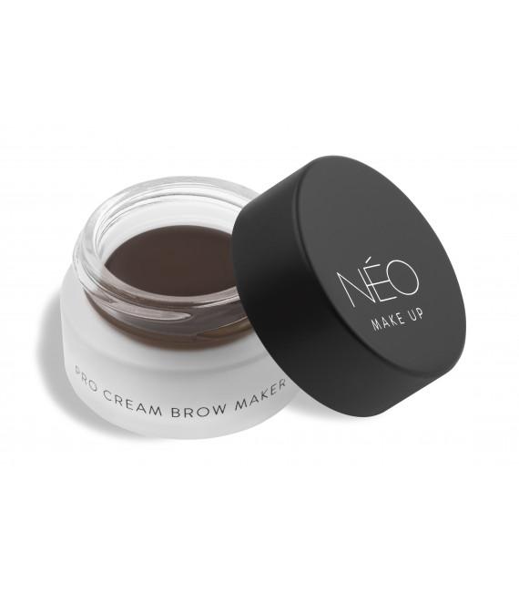 Pomada do brwi dark brown 02 Pro cream brow maker - dark brown 02