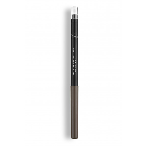 Kredka do brwi light brown 03 Pro eyebrow designer light brown 03