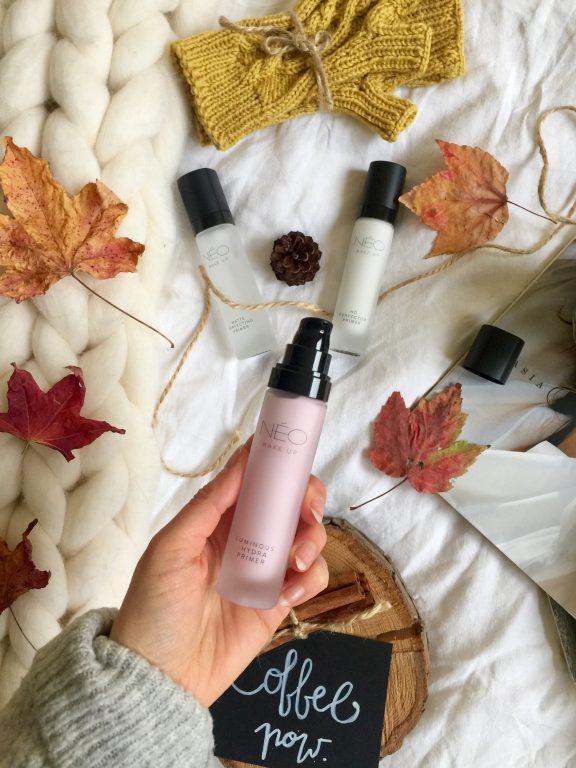 Bazy przedłużające trwałość makijażu i pielęgnujące skórę od NEO Make Up