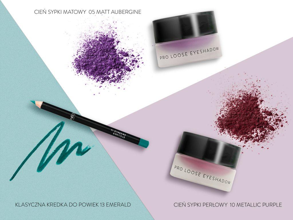 Profesjonalne kosmetyki do makijażu zielonych oczu od NEO Make Up