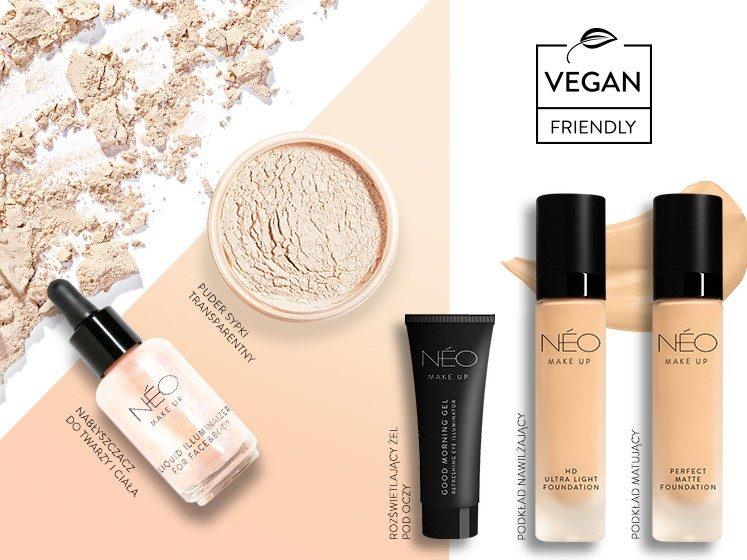 Wegańskie kosmetyki do makijażu