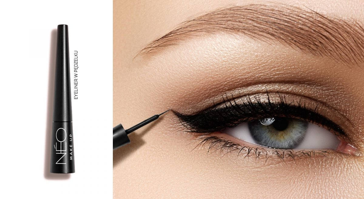 Eyeliner w pędzelku NEO Make Up