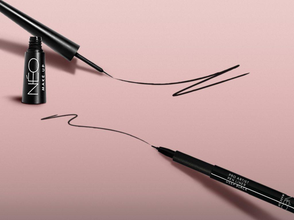 Eyeliner wpisaku, eyeliner wpędzelku od NEO Make Up