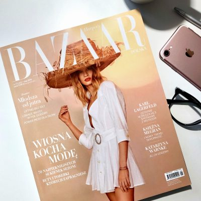 Wiosenna sesja do magazynu Harper's Bazaar