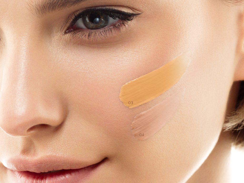 Odcienie podkładów do twarzy NEO Make Up