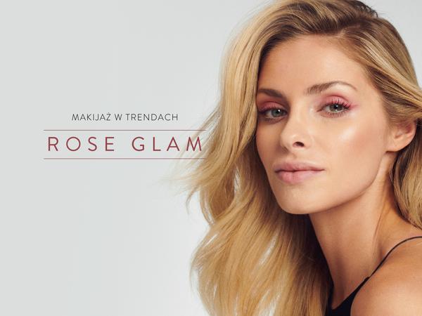 Makijaż Rose Glam wykonany produktami NEO Make Up