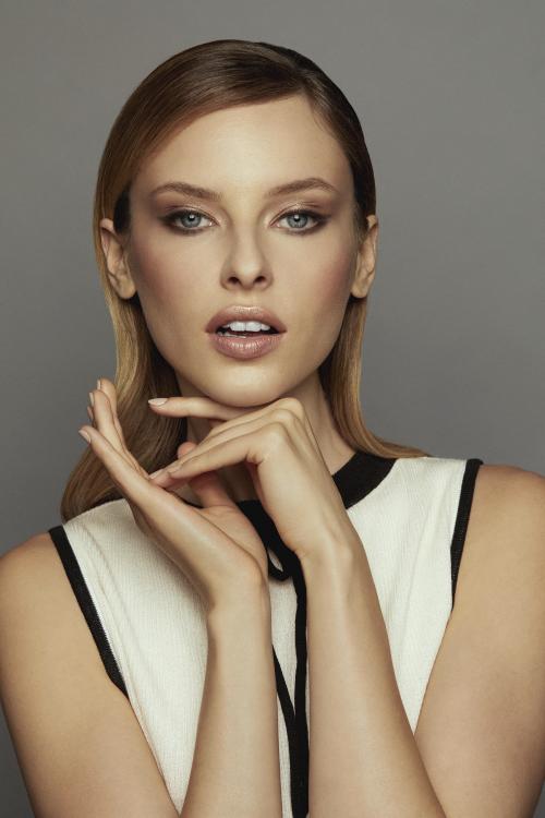 Elegancki makijaż Golden Mood