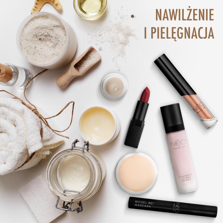 Kosmetyki NEO Make Up zwłaściwościami pielęgnacyjnymi