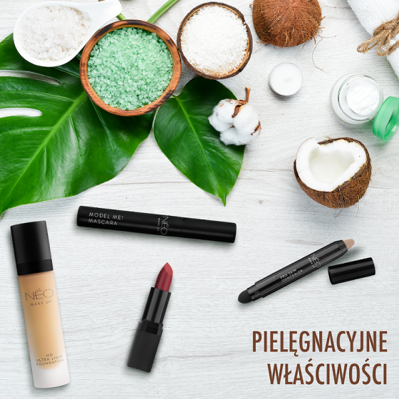 Właściwości olejów roślinnych wkosmetykach NEO Make up
